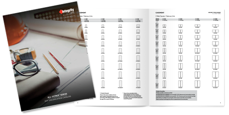 Integrity All Ultrex Specification Catalog