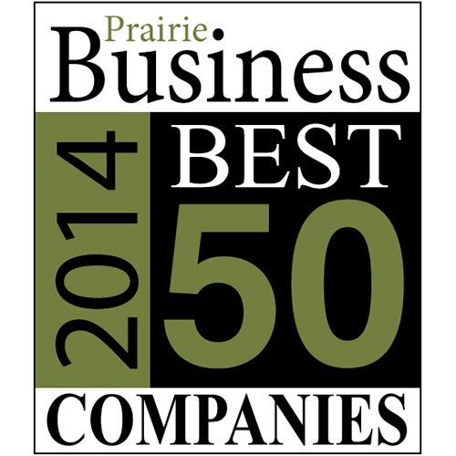 50 Best Places to Work,Prairie Business Magazine