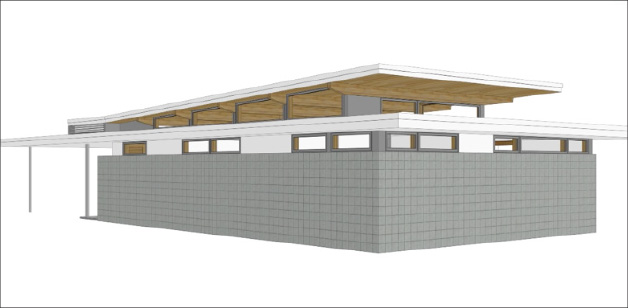 image of pre-fabricated house